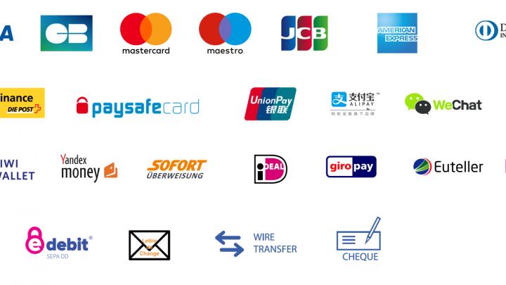 methodes de paiement en ligne